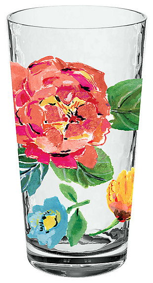 Acrylic Garden Floral Jumbo Set (Set of 6), , large