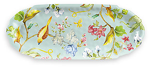 Melamine Spring Chinoiserie Appetizer Tray