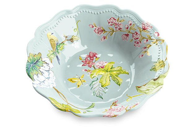 Melamine Spring Chinoiserie Bowl (Set of 6), , large