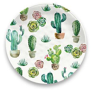 Melamine Desert Garden Dinner Plate (Set of 6), , large
