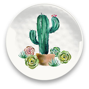 Melamine Desert Garden Salad Plate (Set of 6), , large