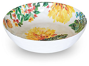 Melamine Garden Floral Bowl (Set of 6), , large