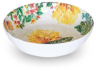 Melamine Garden Floral Bowl (Set of 6)
