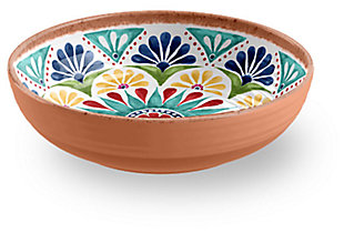 Melamine Rio Medallion Bowl (Set of 6), , large