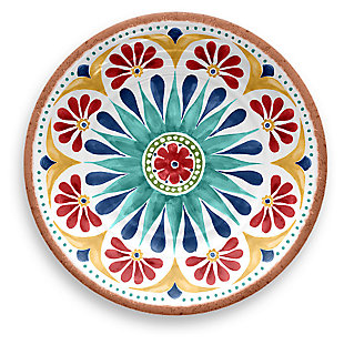 Melamine Rio Medallion Salad Plate (Set of 6), , large