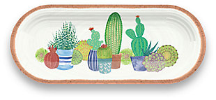 Melamine Rio Succulents Sandwich Tray, , large