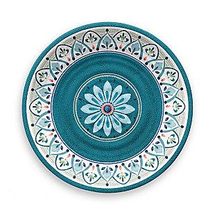 Tarhong Moroccan Medallion Dinner Plate (Set of 6), , large