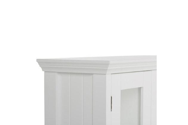 Rustic Acadian Double Door Wall Bath Cabinet, , large