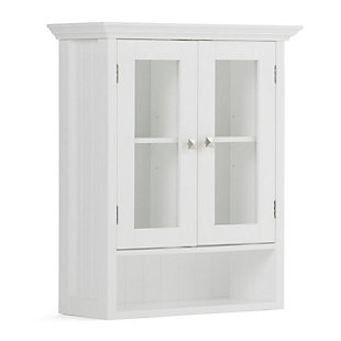 Rustic Acadian Double Door Wall Bath Cabinet, , large