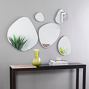 Home Accents Holly & Martin Woxsley Decorative Mirror (Set of 5), , rollover