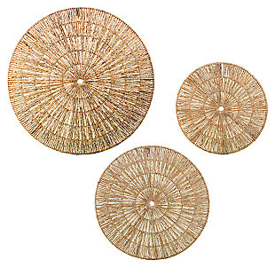 Home Accents Holt Seagrass Wall Décor (Set of 3), , large