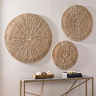 Home Accents Holt Seagrass Wall Décor (Set of 3), , rollover