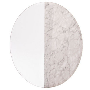 Home Accents Holly & Martin Bowers Round Decorative Miror, , large