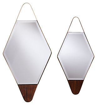 Home Accents Holly & Martin Rawlins Decorative Mirror (Set of 2), , large