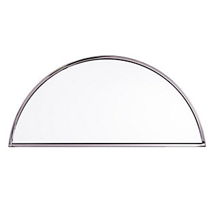 """Home Accents Holly & Martin Decorative Demilune 30"""" Mirror, , large"""