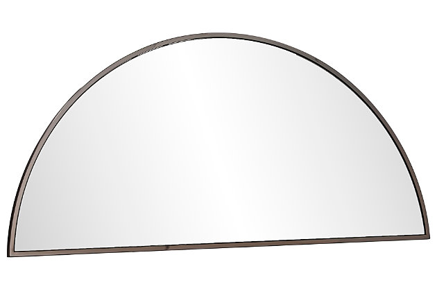 """Home Accents Holly & Martin Decorative Demilune 48"""" Mirror, , large"""