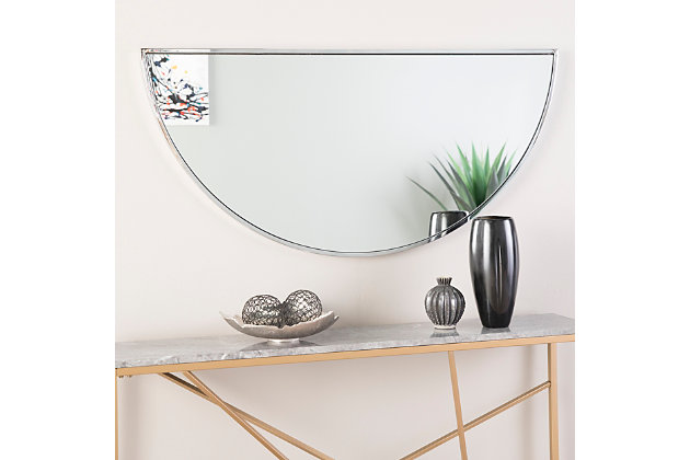 "Home Accents Holly & Martin Decorative Demilune 48"" Mirror, , large"