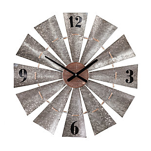 Home Accents Cartrey Decorative Wall Clock, , large