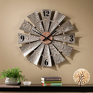 Home Accents Cartrey Decorative Wall Clock, , rollover