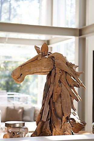 Home Accents Horse Head Sculpture, , large