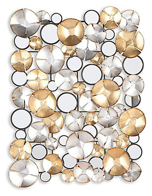 Home Accents Tanner Metal Wall Sculpture, , large