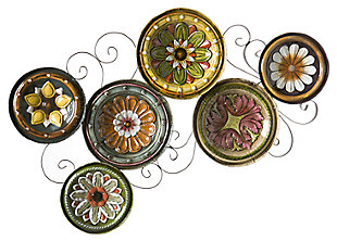 Home Accents Abriga Plates I Wall Sculpture, , large