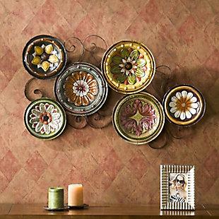 Home Accents Abriga Plates I Wall Sculpture, , rollover