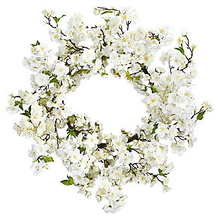 """Home Accents 24"""" Cherry Blossom Wreath, , large"""