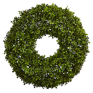 "Home Accents 22"" Boxwood Wreath, , rollover"