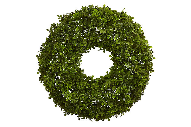 "Home Accents 22"" Boxwood Wreath, , large"