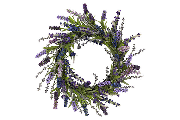 "Home Accents 20"" Lavender Wreath, , large"