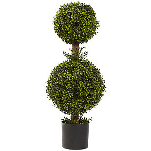 """Home Accents 35"""" Double Boxwood Topiary, , rollover"""