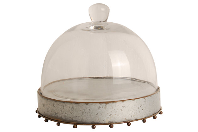 Home Accents Dome, Gray, large