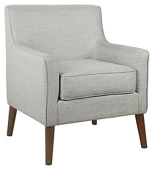 HomePop Davis Mid-Century Accent Chair, Gray, large