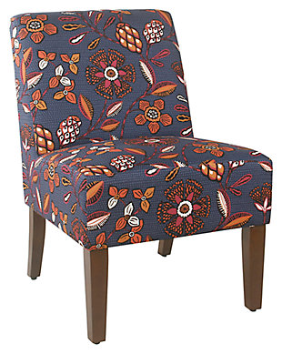 HomePop Armless Accent Chair, , large