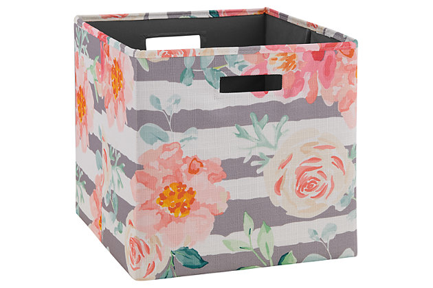 Foldable Gwen Storage Bin (Set of 2), , large