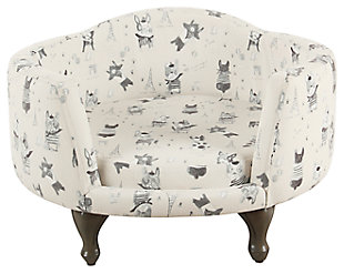 Kinfine Decorative Pet Bed with French Bulldog Print, , rollover