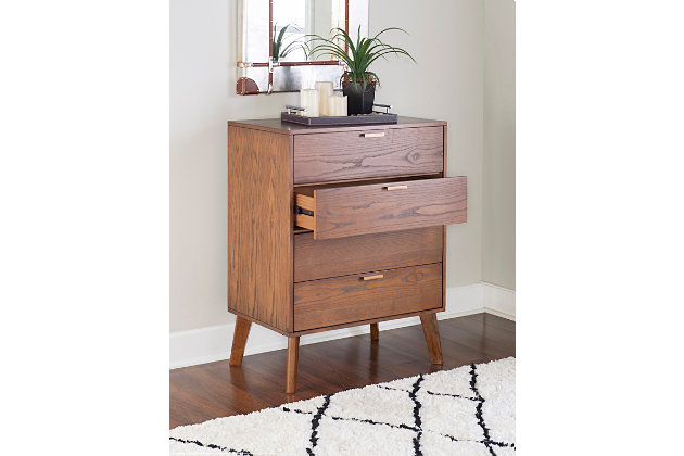 Linon Four Drawer Chest of Drawers, , large