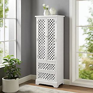 Tall Cabinet White, , rollover
