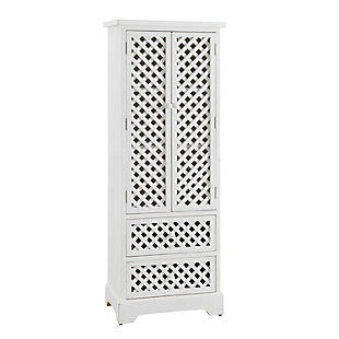 Tall Cabinet White, , large
