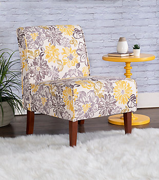 Floral Casey Chair, , rollover