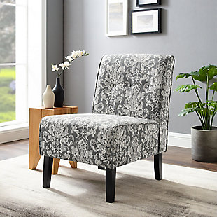 Damask Coco Damask Accent Chair, Multi, rollover