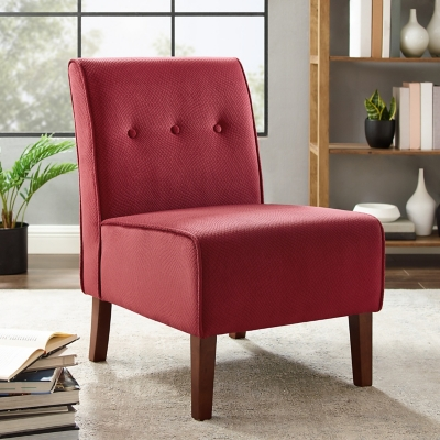 Red Coco Accent Chair, Red, large