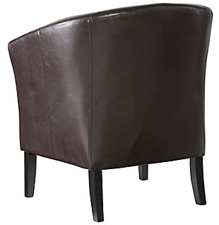 Blackberry Scotty Club Chair, Brown, large