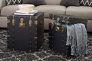 Home Accents Chest (Set of 2), , rollover