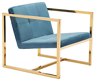 Modern Alt Blue Arm Chair, , large