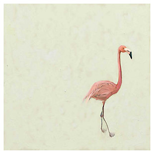 GreenBox Art Flamingo Walk by Cathy Walters Canvas Wall Art, , large