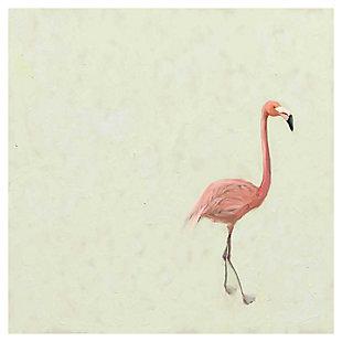 GreenBox Art Flamingo Walk by Cathy Walters Canvas Wall Art, , large
