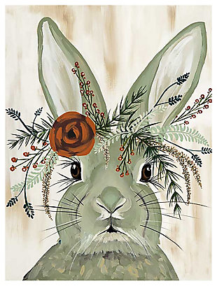 GreenBox Art Flora & Fauna - Adare by Spring Whitaker Canvas Wall Art, Gray, large