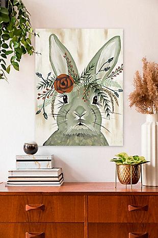 GreenBox Art Flora & Fauna - Adare by Spring Whitaker Canvas Wall Art, Gray, rollover